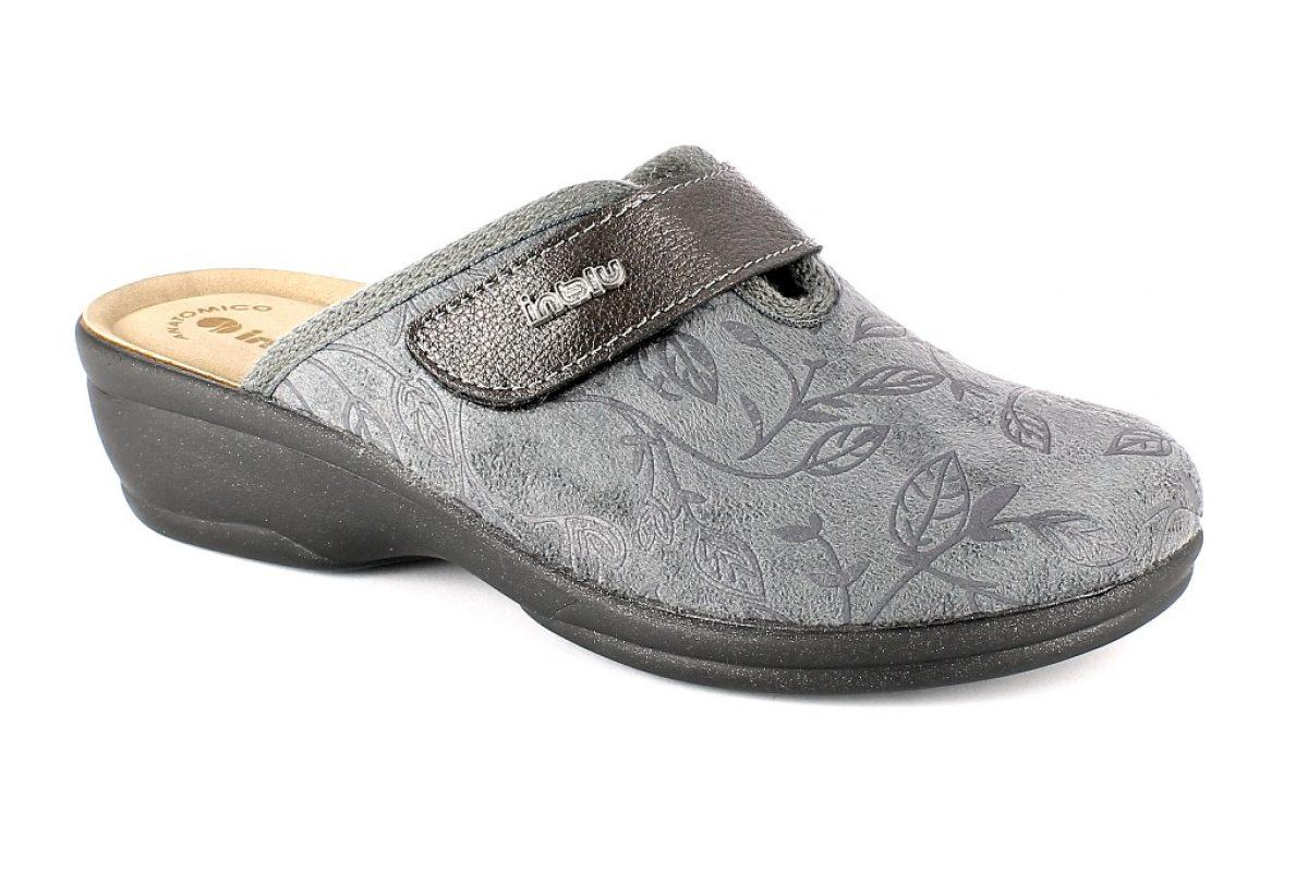Pantofol Donna Invernale Inblu BJ 92 Grigia
