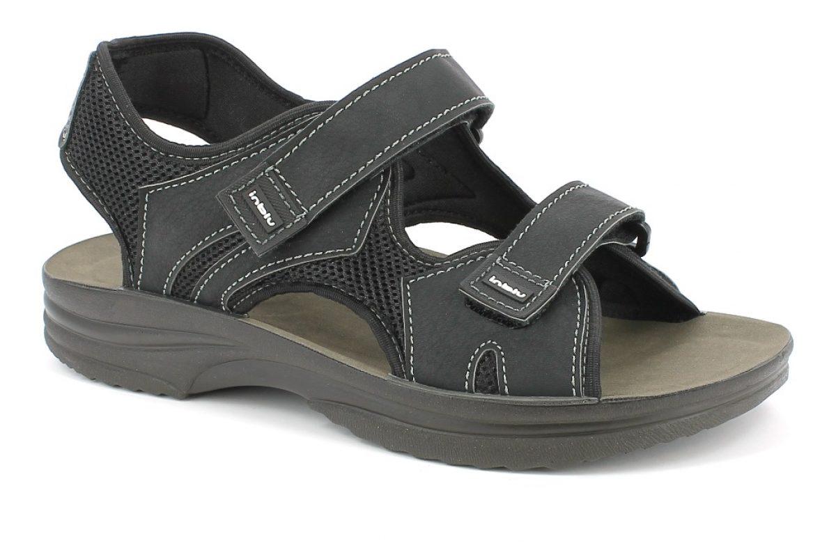 sandalo uomo Inblu RY 24 grigio