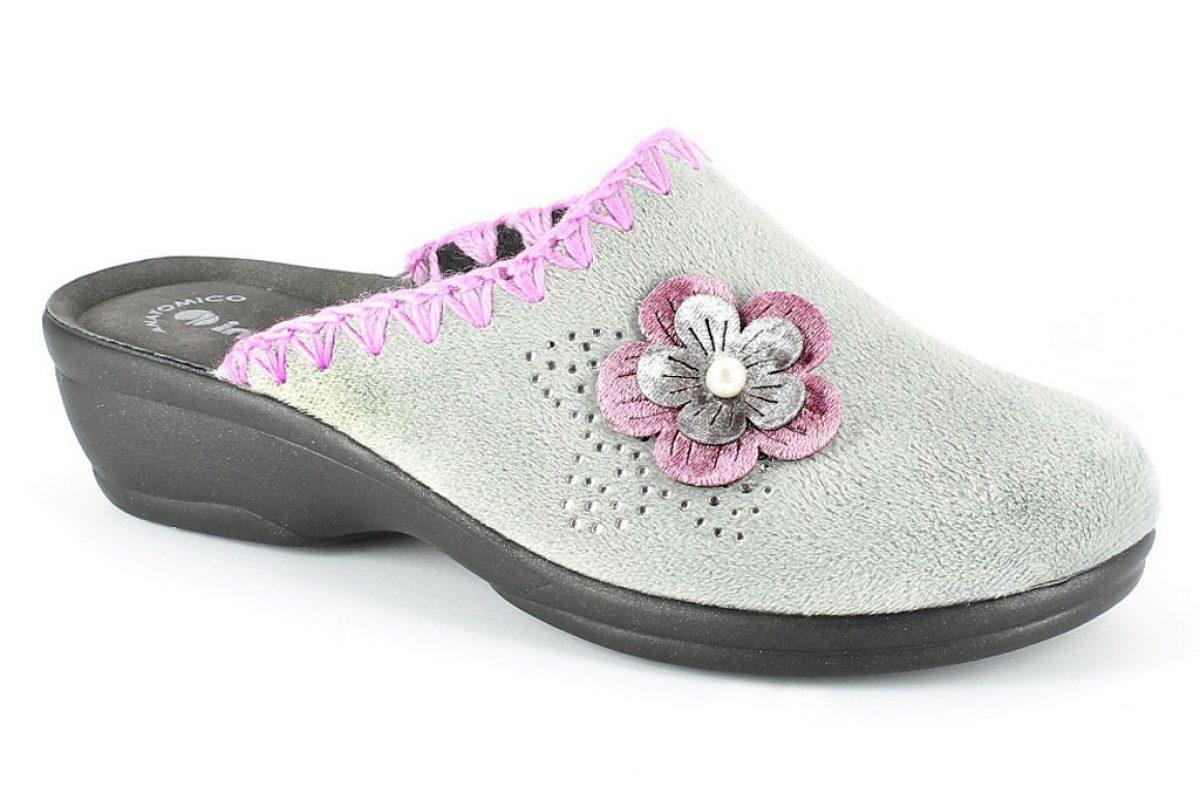 Pantofola Donna Inblu BJ 101 Grigio
