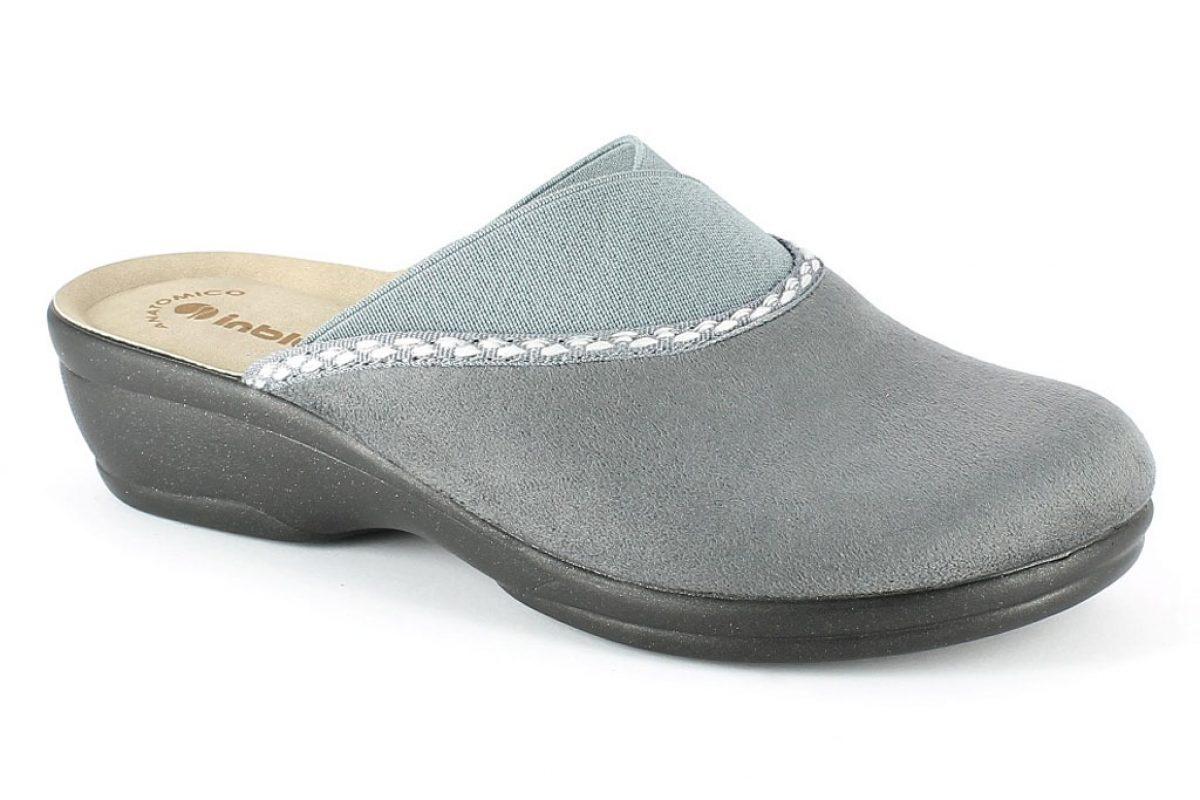 Pantofola Donna Inblu BJ 105 grigio