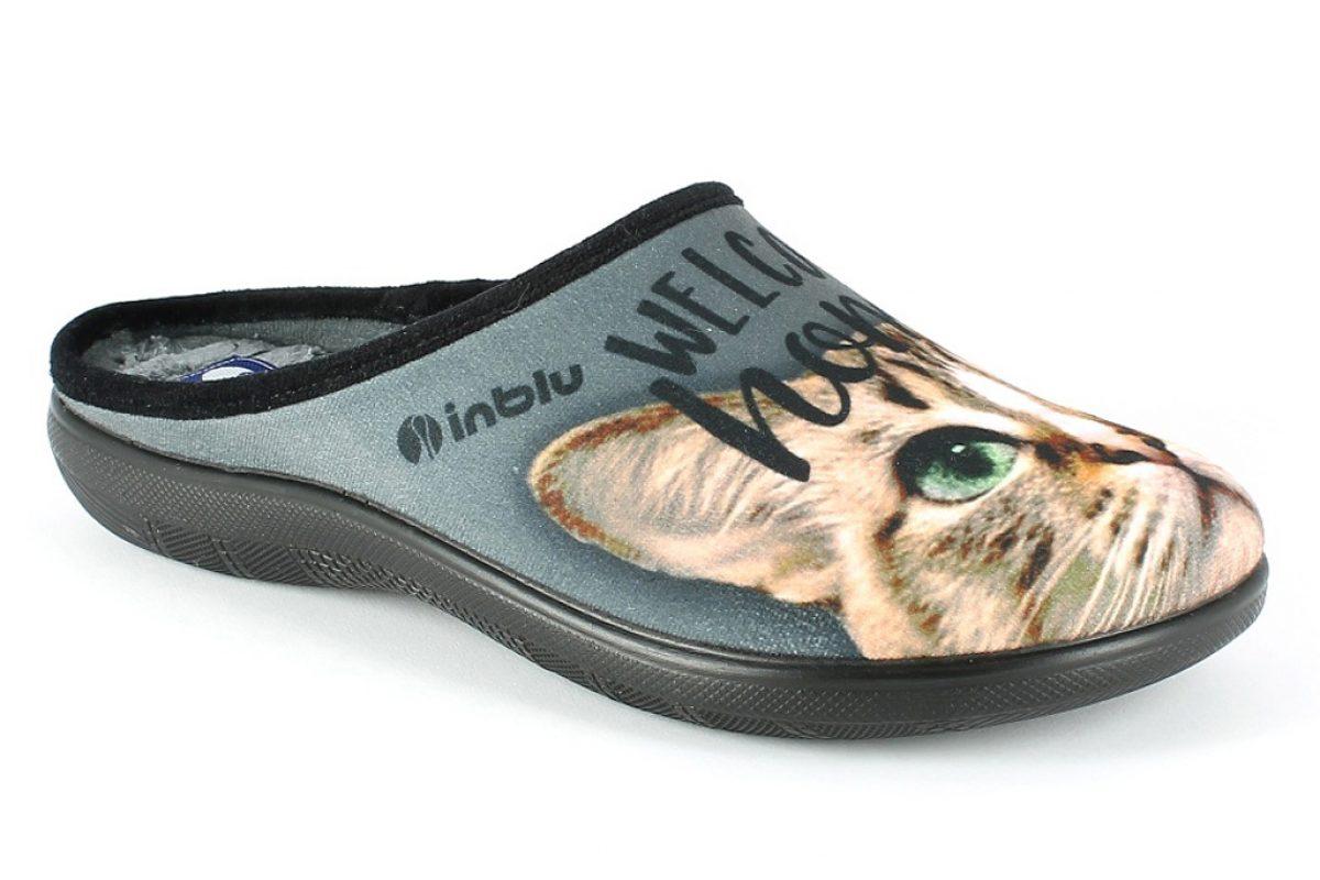 Pantofola Donna Inblu EC 51 Grigio