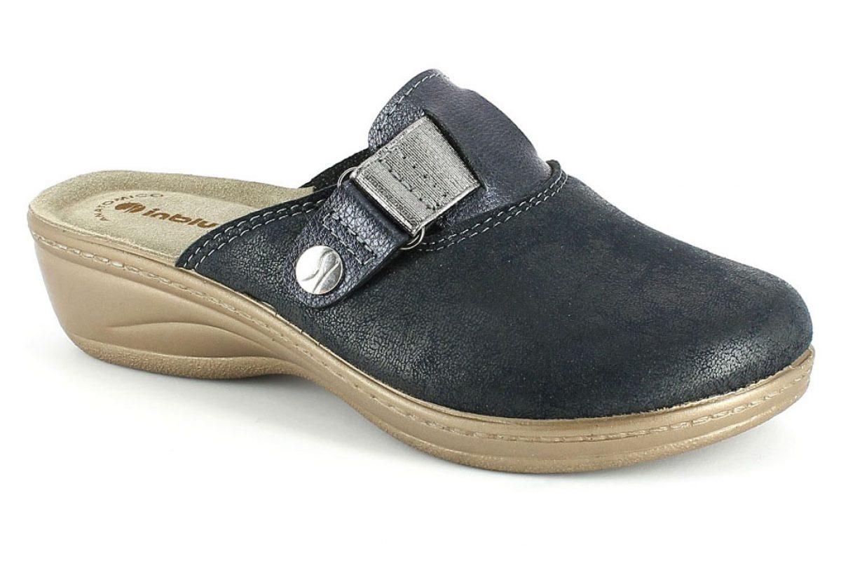 Pantofola Donna Inblu LY 48 Blu