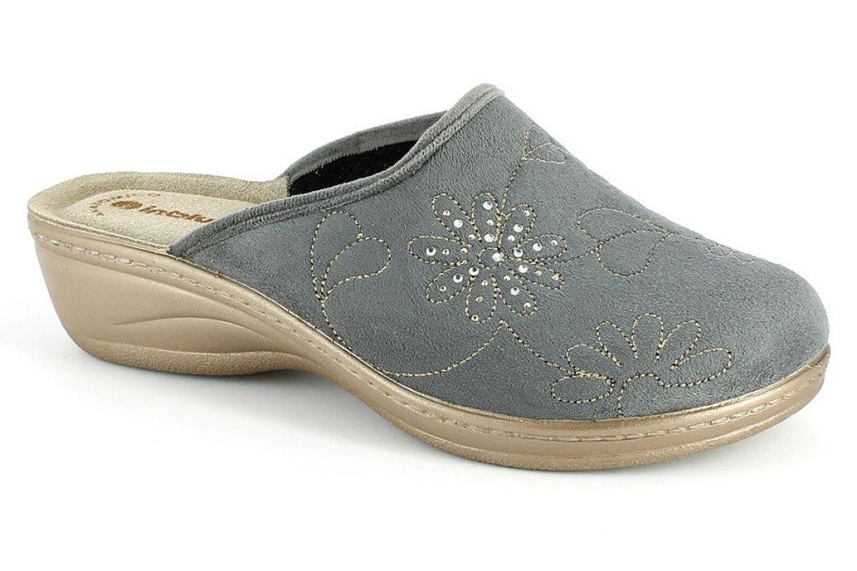 Pantofola Donna Inblu LY 49 Grigio