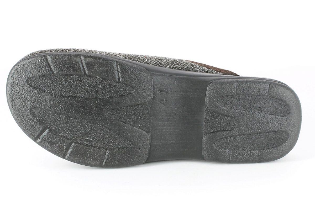 Pantofola Uomo PO 63 Grigia