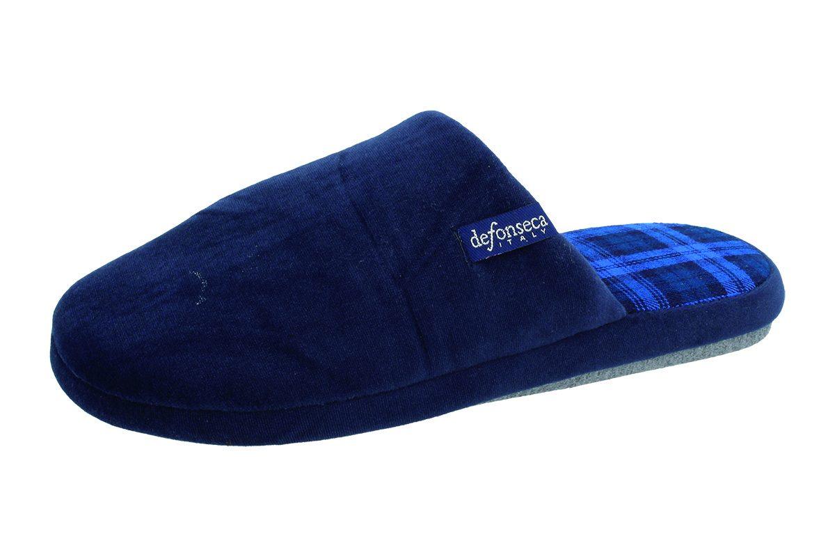 Pantofola Uomo De Fonseca ROMA TOP I M524 Blu scuro