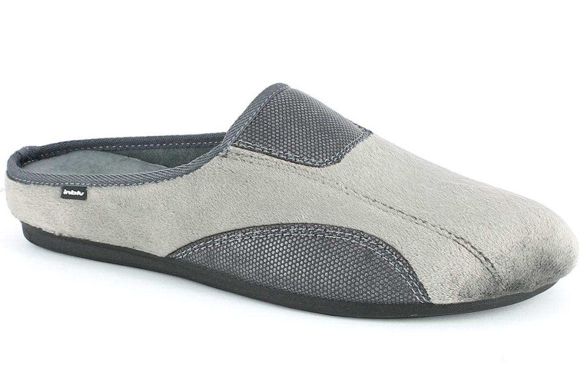 Pantofola Uomo InBlu RP 15 antracite