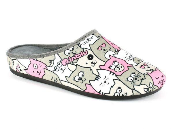 Pantofola Donna Inblu VG 16 Grigio