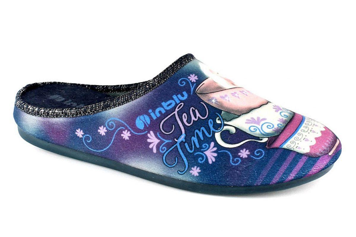pantofola Donna Inblu VG 17 Blu
