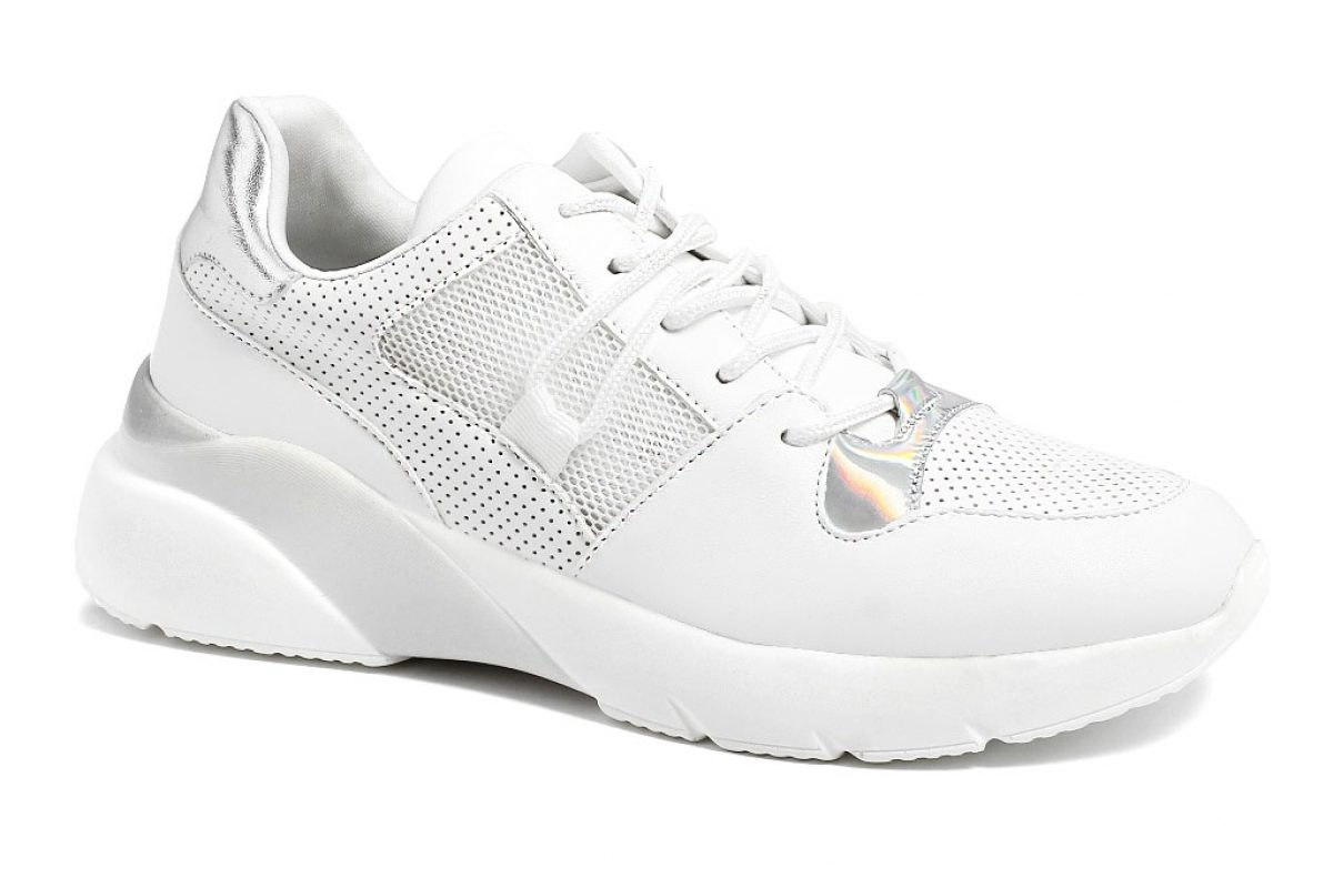 Sneackers Donna InBlu IN 220 Bianco
